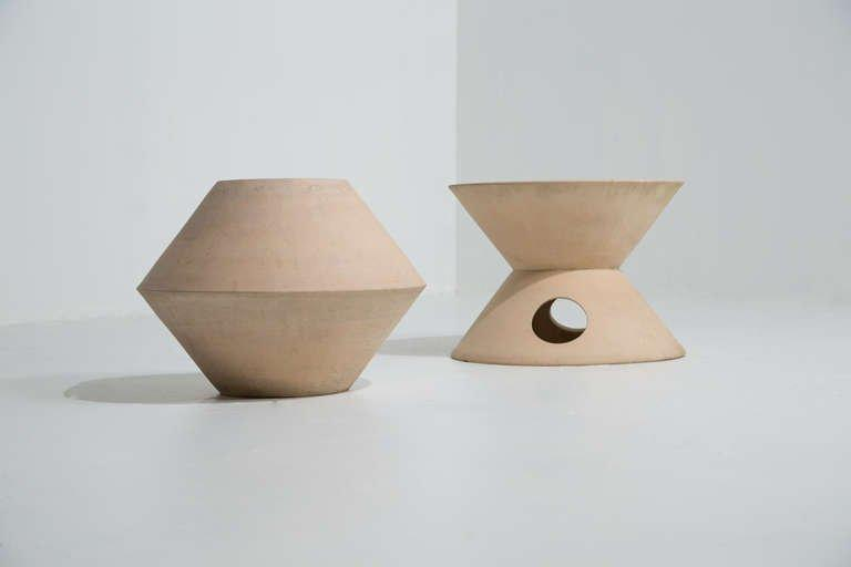 Pair of La Gardo Tackett Planters for Architectural Pottery, 1960s
