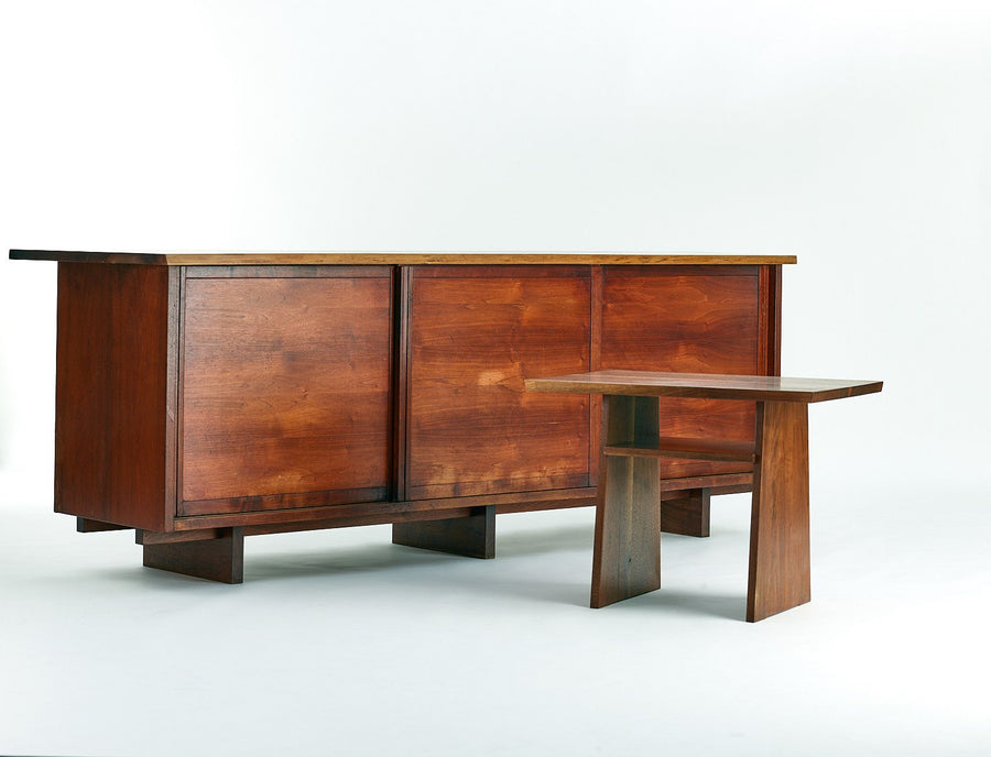George Nakashima Walnut Cabinet, 1950s - The Exchange Int