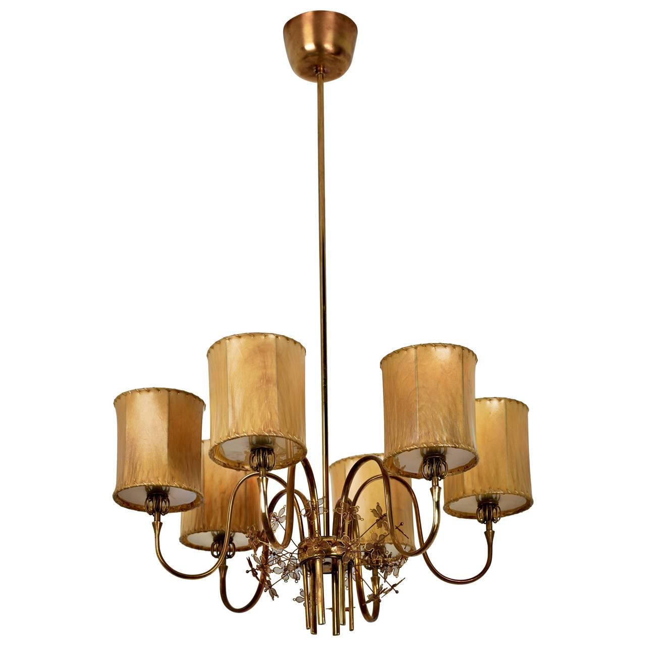 Paavo Tynell Chandelier Model No. 9013 for Taito Oy, 1940s - The Exchange Int