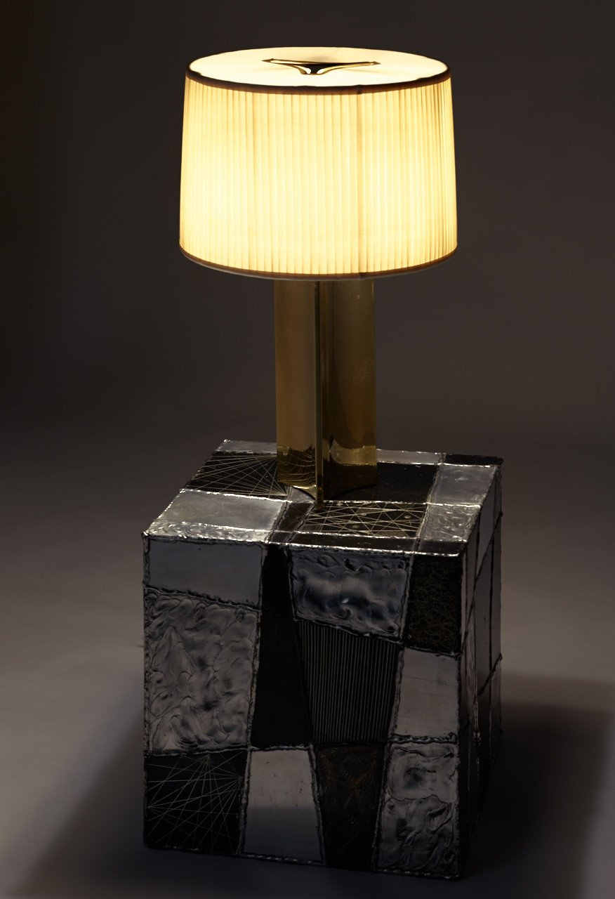 [SOLD] Paavo Tynell Pair of Rare Table Lamps, Model 10405, 1940s