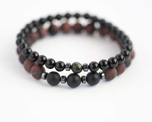 Tiger's Eye Men's Bracelet - Vida Jewelry Designs