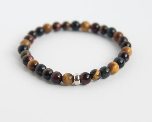 Tigers Eye Men's Bracelet - Vida Jewelry Designs