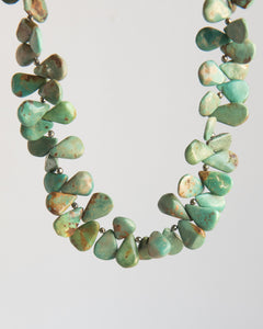 Natural Turquoise Statement Necklace - Vida Jewelry Designs