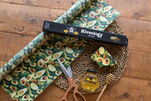 Load image into Gallery viewer, CUT YOUR SIZE - Beeswax Reusable Food Wrap BeesWax Wraps Hiveology