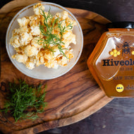 Honey & Dill Popcorn Honey Popcorn Hiveology