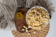 Honey & Truffle Popcorn Honey Popcorn Hiveology