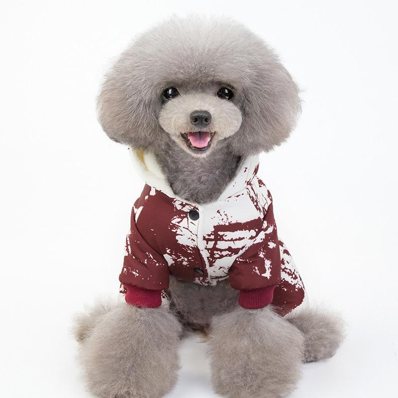 Adorable Cotton Dog Jacket