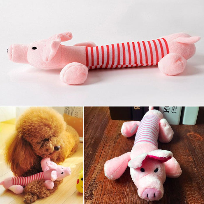 Cute Plush Squeak Toys