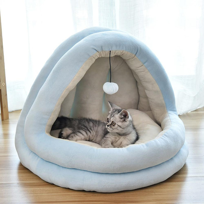 Pet Warm Soft Sleeping Bed