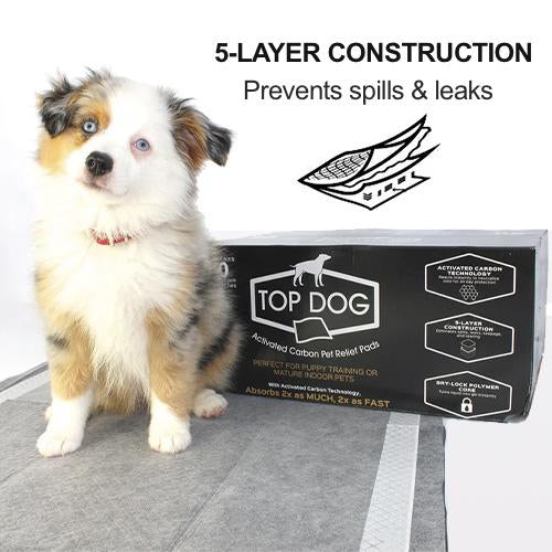 Top Dog Deluxe Puppy Pads and Dog Training Pad