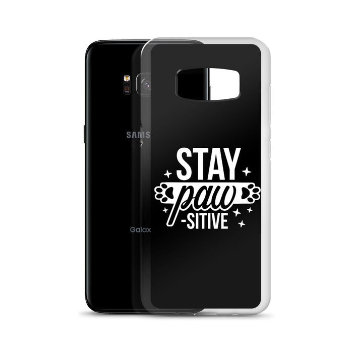 Stay Pawsitive Samsung Case