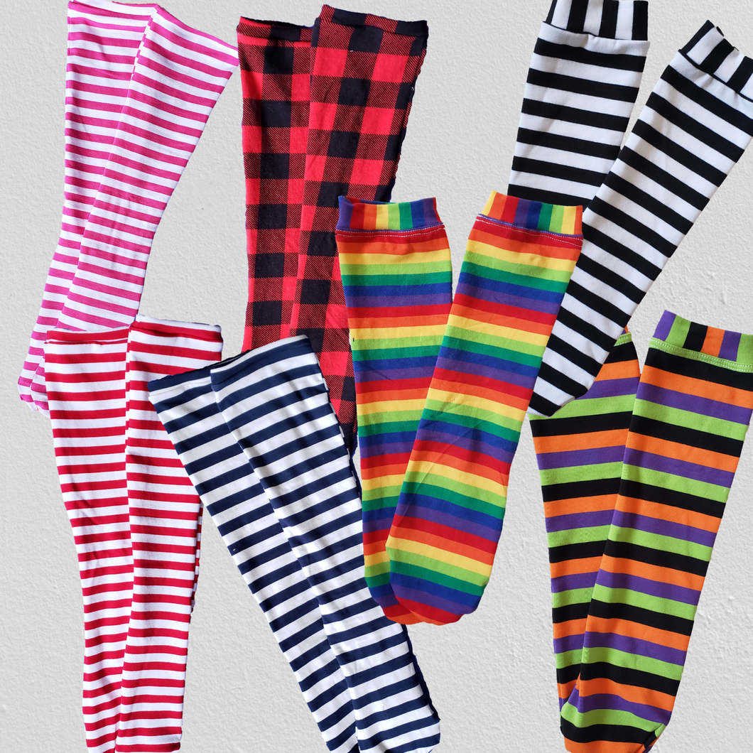 handmade knee high socks at quark and atom