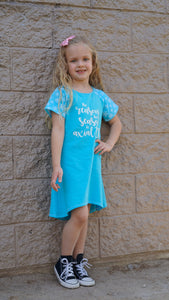 The Reason for the Season is Axial Tilt Children's Dress