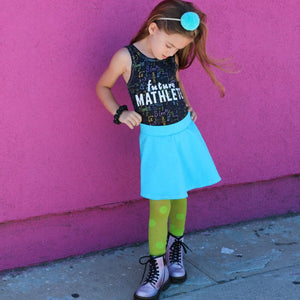 future mathlete shirt, STEAM clothing for girls or boys at quark and atom