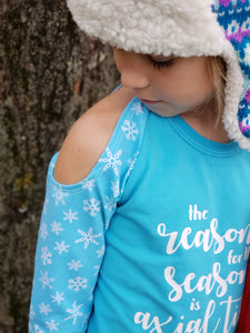 The Reason for the Season is Axial Tilt Children's Shirt