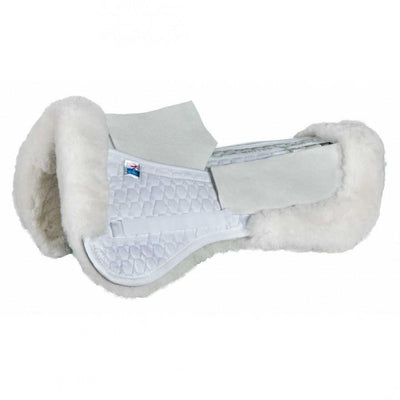 Mattes Correction Half Pad with sheepskin panels – Dressage