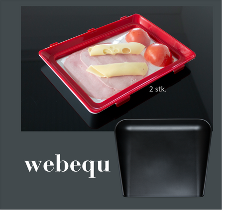 Bundle offer #3: 2 pieces of CleverTrays and a high-edged cutting board.