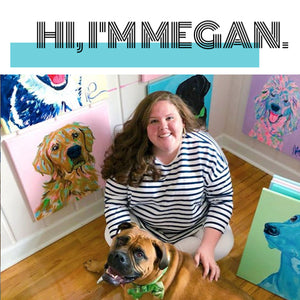 💜🐶💙 The Megan Carn Artist Spotlight Collection Has Arrived!