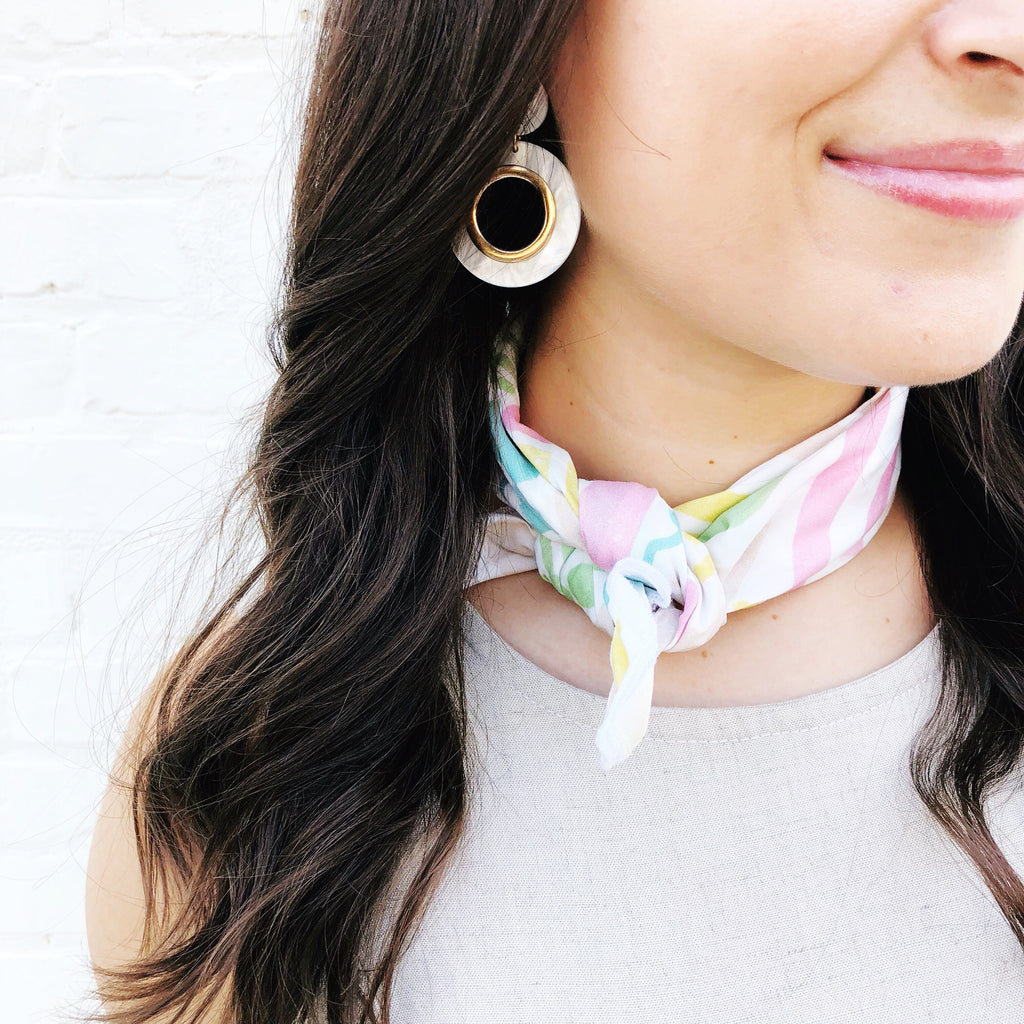 Moon and Lola Blog How To Style A Bandana Scarf