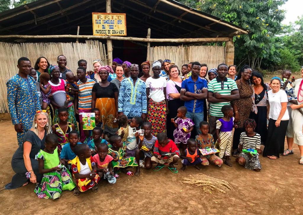moon and lola francis and benedict taylor burke home trip to togo africa