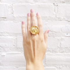 ML xx TP Confetti Round Ring