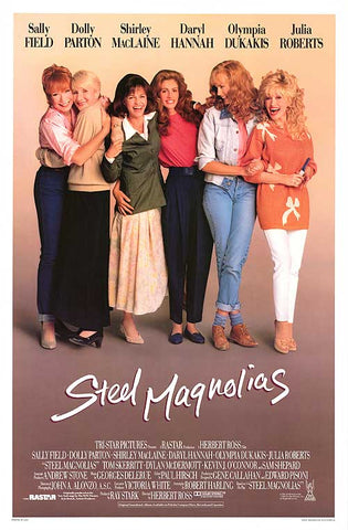 Moon and Lola favorite wedding movies blog post steel magnolias featuring julia roberts