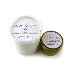 Moon and Lola - hand poured scented candles available online and in store
