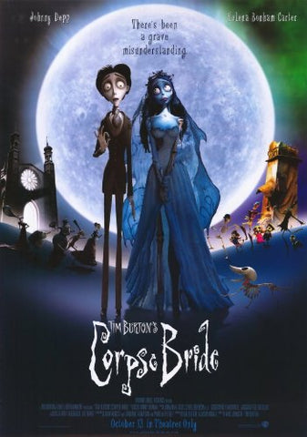 Moon and Lola corpse bride movie poster