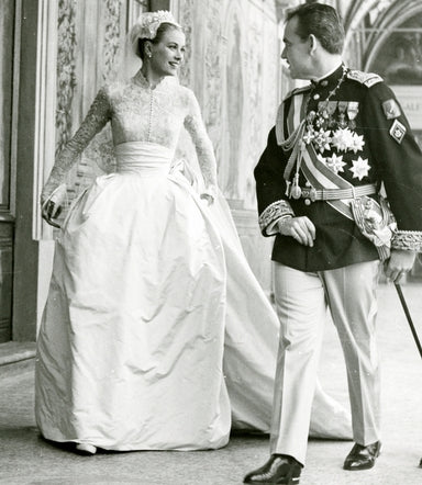 Princess Grace of Monaco in Wedding Gown