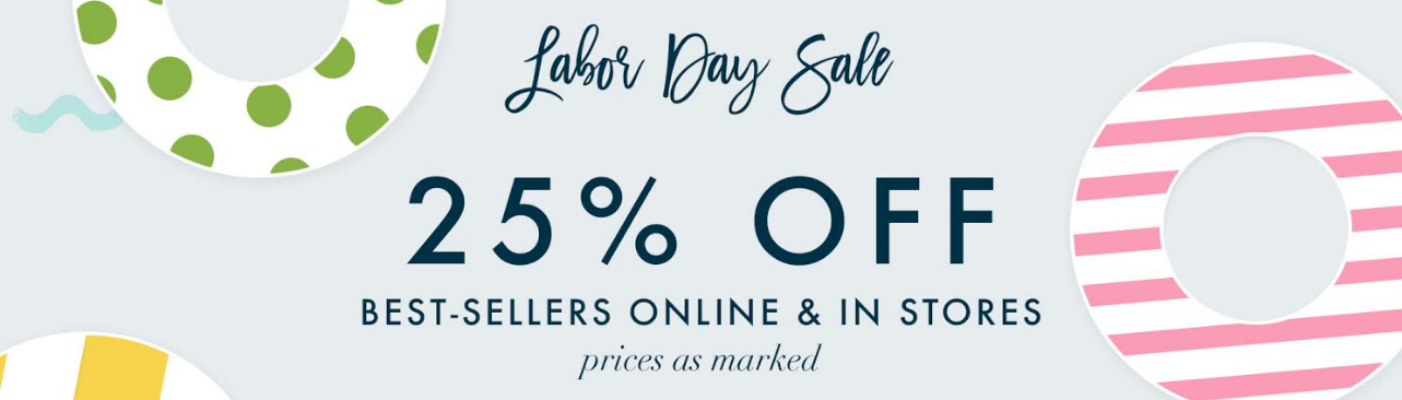 Moon and Lola Labor Day 25% Off Sale