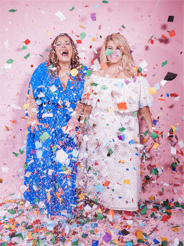 Moon and Lola xx Thimblepress kelly shatat kristen ley confetti party collaboration