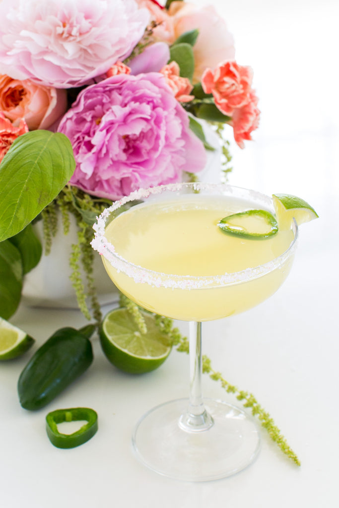 Moon and Lola Cinco de Mayo Recipes Skinny Jalapeno Margarita