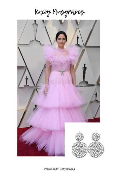 Moon and Lola Oscars Red Carpet Style Blog Post Kacey Musgraves