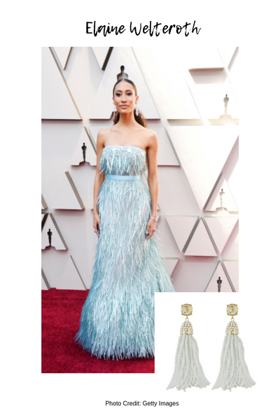 Moon and Lola Oscars 2019 Red Carpet Style Blog Post Elaine Welteroth