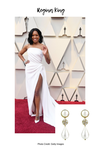 Moon and Lola Academy Awards 2019 Red Carpet Style Blog Post Regina King