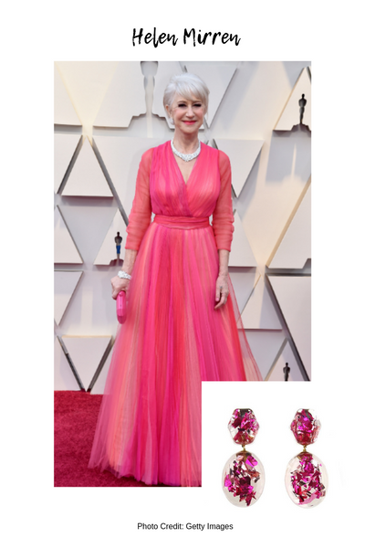 Moon and Lola Oscars Red Carpet Style Blog Post Helen Mirren