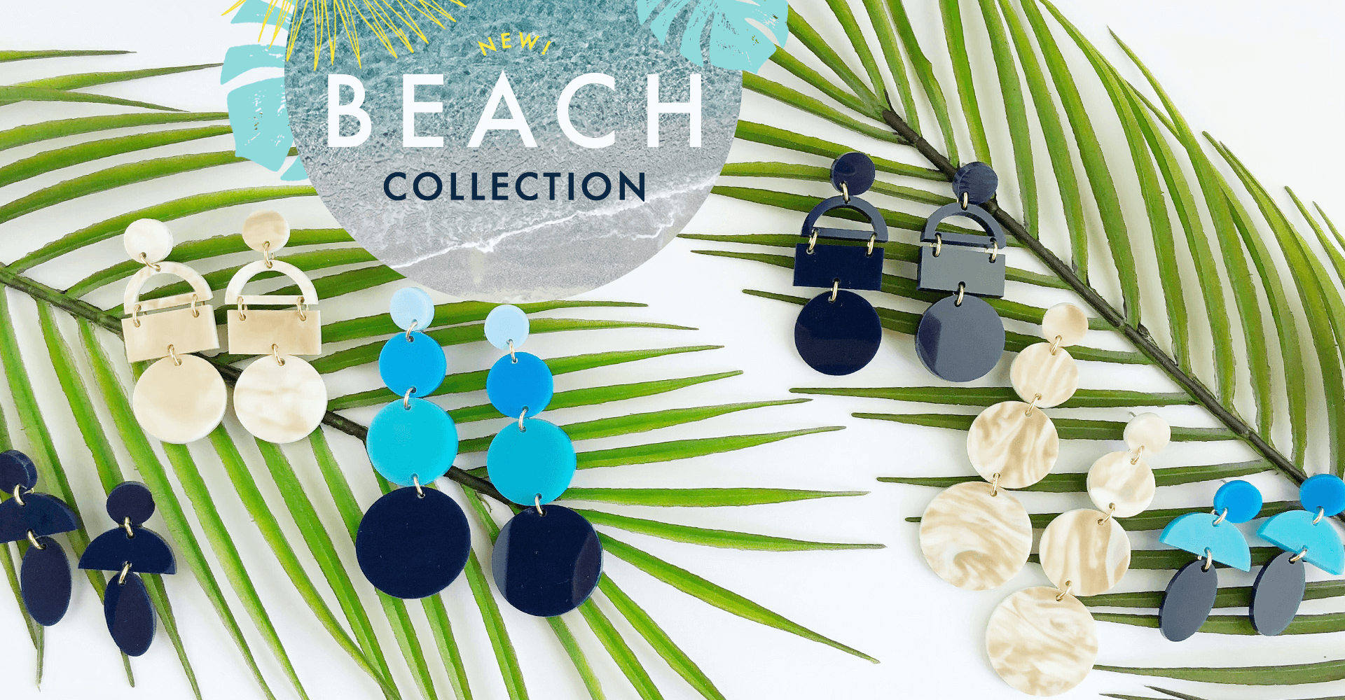 Moon and Lola Beach Collection Earrings
