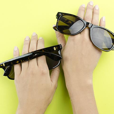 Moon and Lola Eden Pineapple Sunglasses