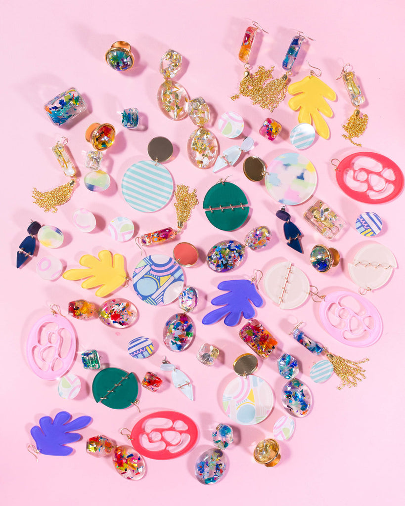 Moon and Lola xx Thimblepress Collaboration Jewelry Collection