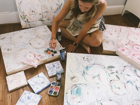 Moon and Lola Artist Spotlight Collection with Morgan Rollinson