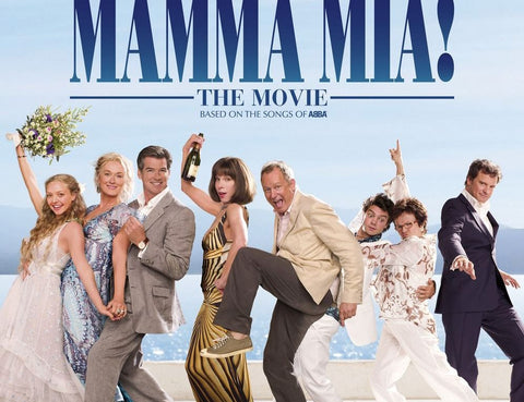 Moon and Lola favorite wedding movies blog post mamma mia based on songs by abba
