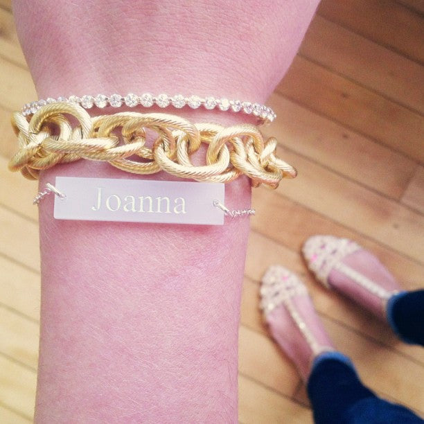 I found this at #moonandlola! - Brockton Block Bracelet on model