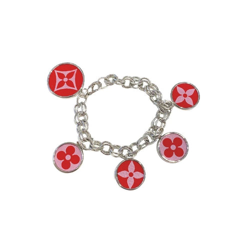 Red Leone Printed Hatherly Bracelet