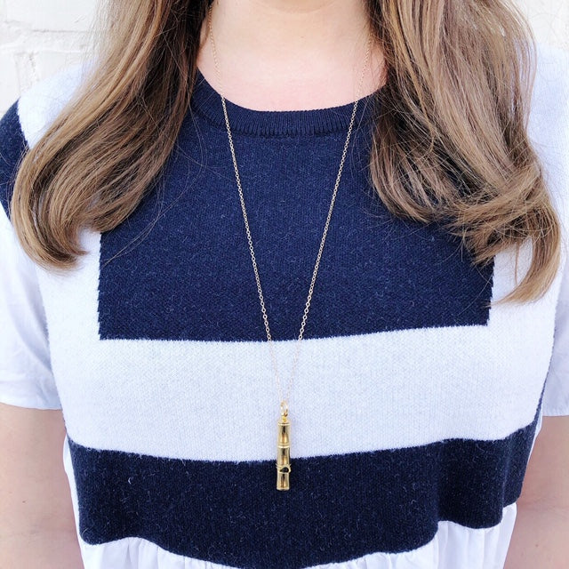 Moon and Lola - Saana Whistle Necklace