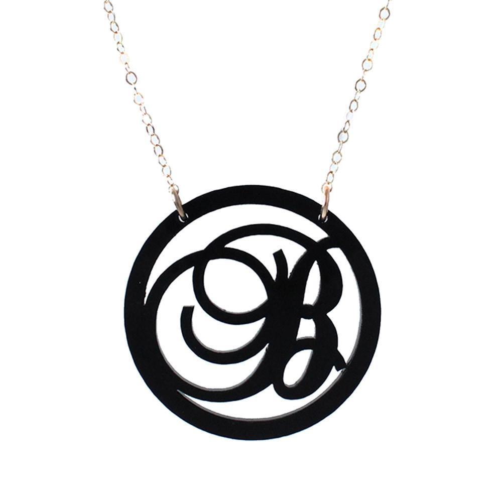 I found this at #moonandlola! - Acrylic Beso Necklace