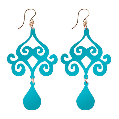 I found this at #moonandlola! - Acrylic Dubai Earrings (comes in various colors)