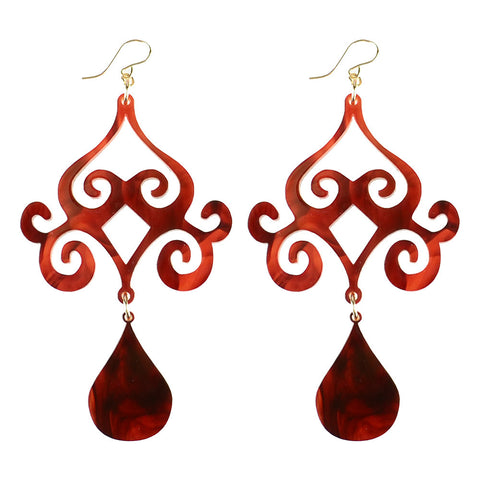 Luna Double Drop Earrings