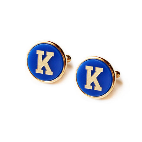 Varsity Square Cuff Links