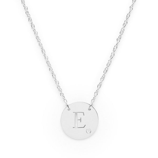 Moon and Lola - Alia Necklace Sterling Silver