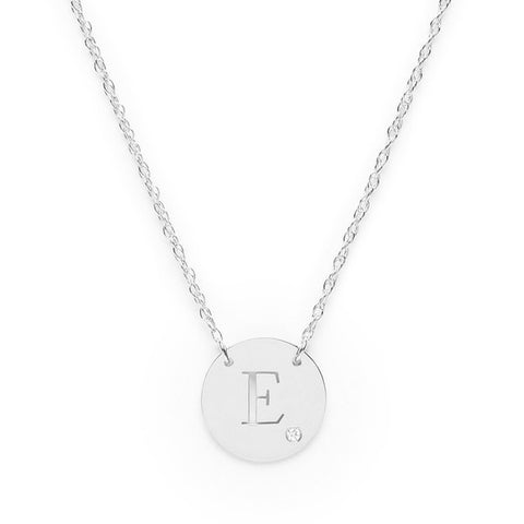 I found this at #moonandlola - Alia Block Initial Necklace